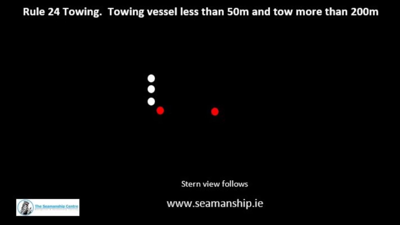 Tow For Less >> Rule24 Towing Towing Vessel Less Than 50m Tow More Than 200m