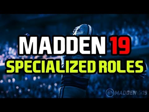 Madden 19 News | PLAYER ROLES - Power Back, Slot Receiver, Slot Corner & More
