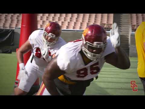 USC Fall Camp  - Coliseum Scrimmage