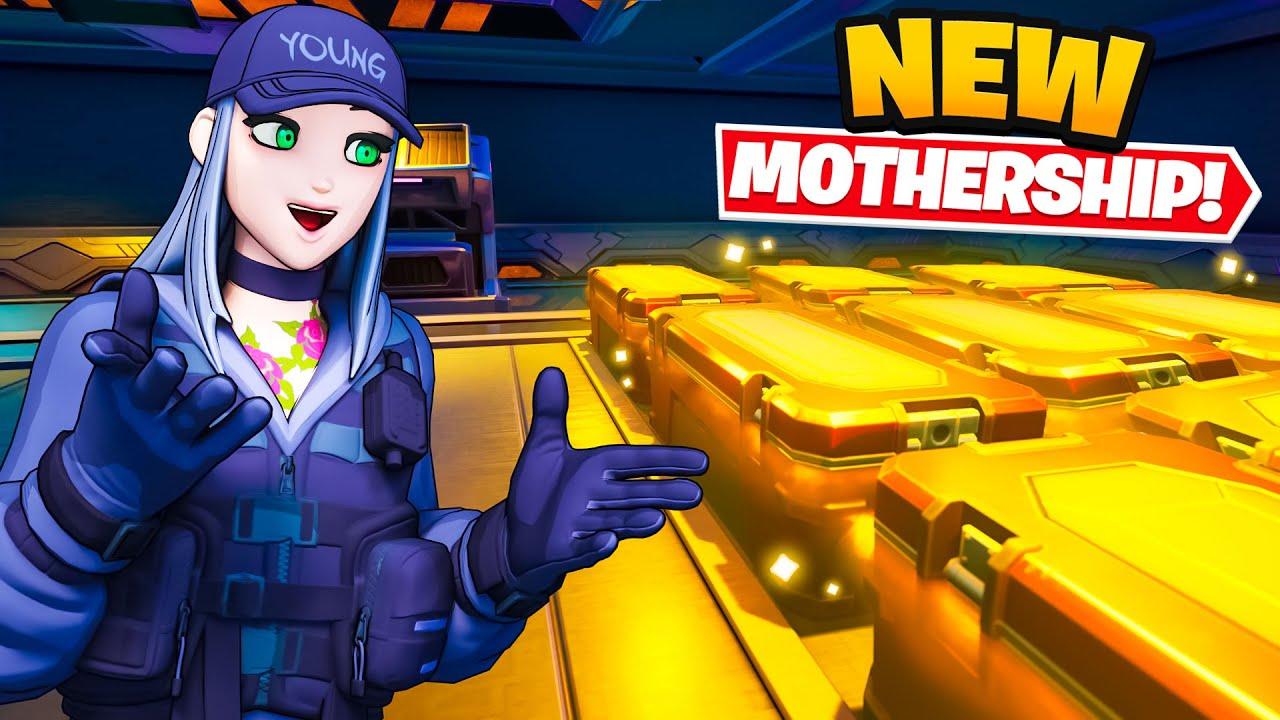 *NEW* MOTHERSHIP UPDATE in Fortnite (INSANE)