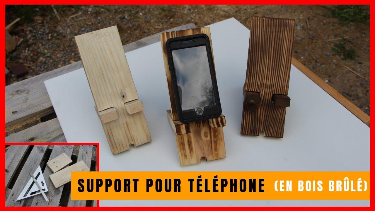 Comment Fabriquer Un Mobile En Bois comment fabriquer un support en bois pour téléphone (qui