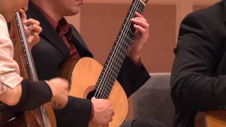 Minneapolis Guitar Quartet - Skymningspolskan by Maria Kalaniemi