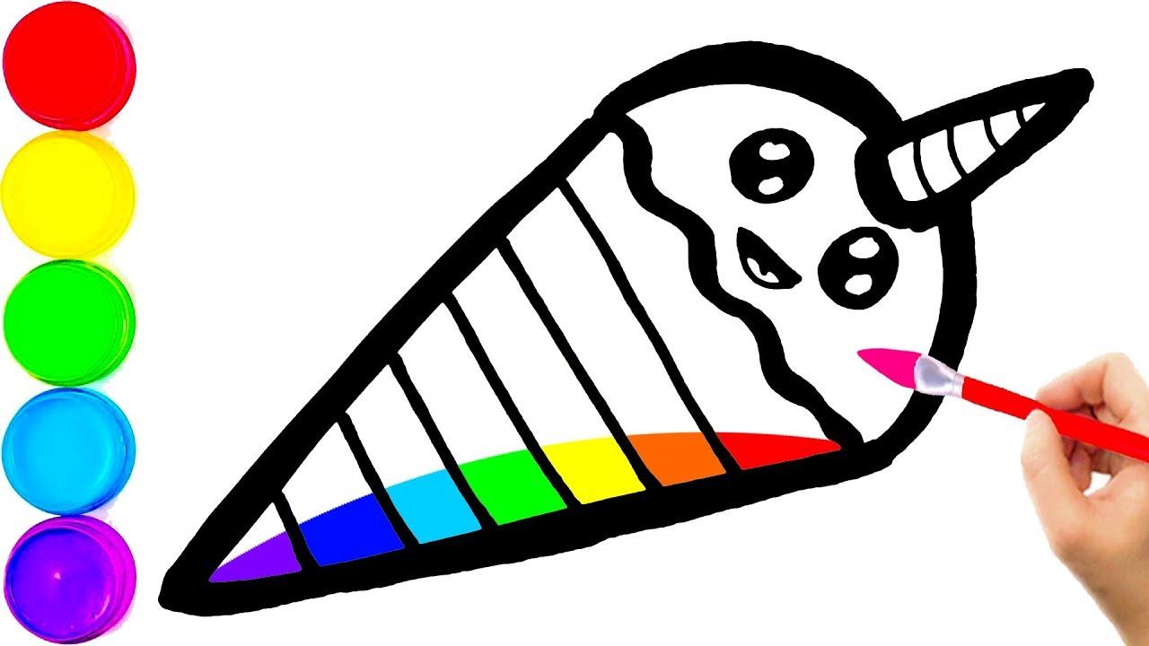 Glitter Rainbow Ice Cream - Unicorn for Kids, Toddlers ...