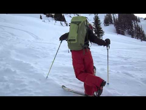 NoronaLife.com  Kick Turns with G3 Athlete Lars Andrews