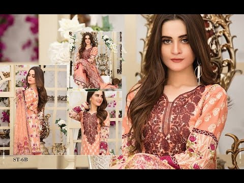 8fd5d5d4a3 Ayesha Chottani Embroidered Collection 2017 By Shariq Textile - YouTube