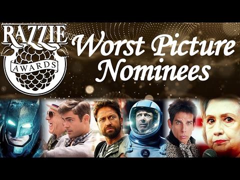 RAZZIES 2017 - Worst Picture Nominees Trailer Compilation