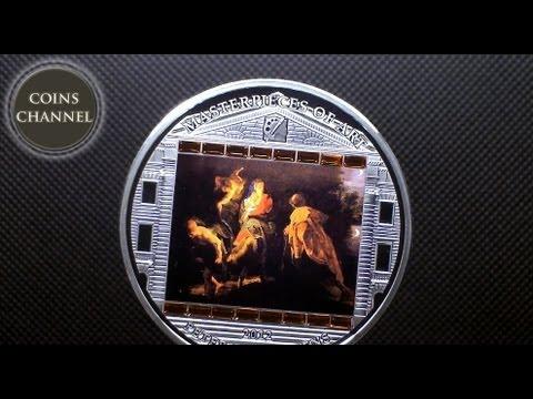 $20 Silver Coin Cook Islands 2012 PETER PAUL RUBENS - Flight into Egypt