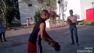 Pelea en deportiva penjamo gto. Cholo vs boxeador