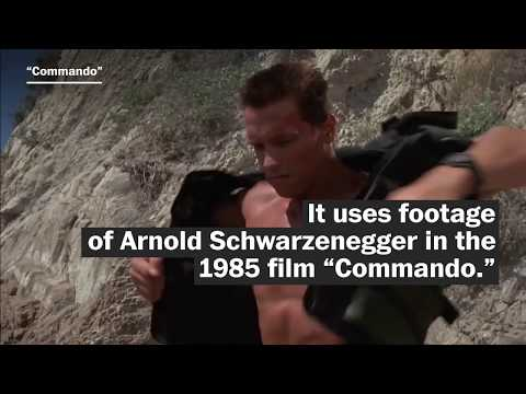 Arnold Schwarzenegger has no idea he stars in Turkmenistan leader's propaganda video