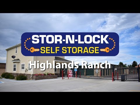 Storage Units In Highlands Ranch, CO   STOR N LOCK Self Storage