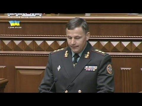 Ucrânia teé um novo ministro da Defesa