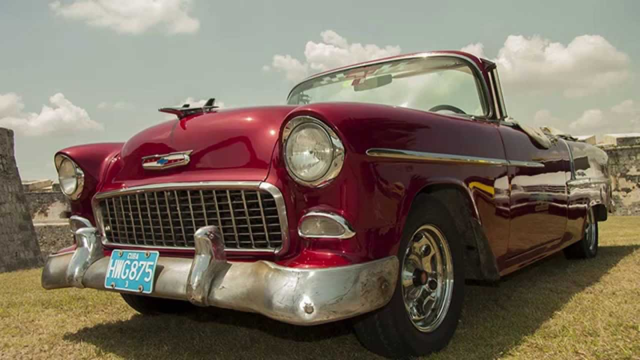 Classic american cars of cuba yank tanks youtube for Old american cars
