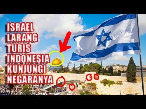 Israel Larang Turis Indonesia Kunjungi Negaranya Mulai Bulan Juni, Ini Penyebabnya