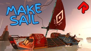Build Boats & Sail Through Crazy Storms! | MAKE SAIL gameplay (PC early access game)