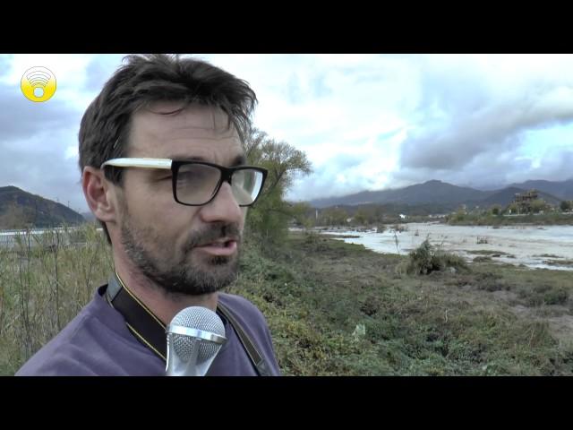Albenga: Azienda Mantica una delle aziende agricole alluvionate: video #1