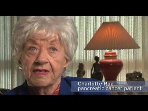 Charlotte Rae shares her experience with pancreatic cancer