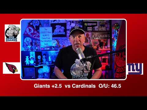 New York Giants vs Arizona Cardinals 12/13/20 NFL Pick and Prediction Sunday Week 14 NFL