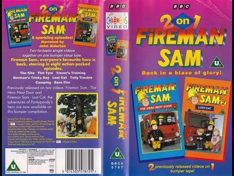 Fireman Sam - 2 On 1 (1996 UK VHS)