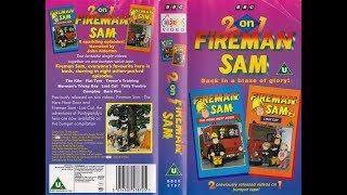 Fireman Sam - 2 on 1 (1996 UK VHS)