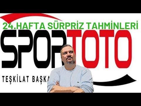Spor Toto 24.hafta iddaa tahminleri/iddaabilirTV picks