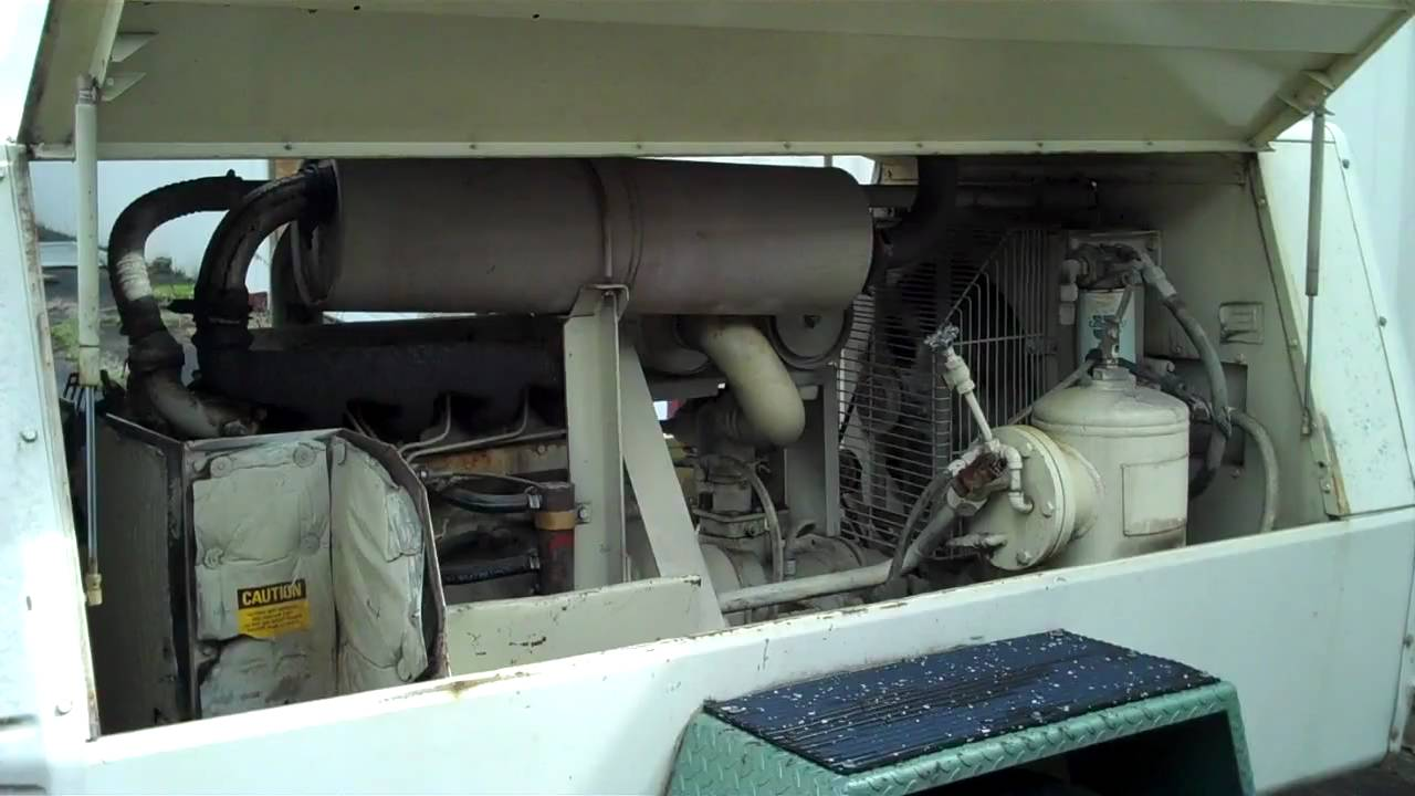 P-185-W-JD Ingersoll-Rand Air Compressor with John Deer