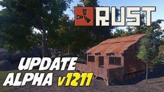 RUST - Alpha 1.2.1.1: Construcciones de metal y otros cambios