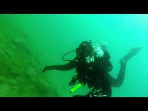 Scuba Diving Harrington Beach Pier Lake Michigan Go Pro Hero 3