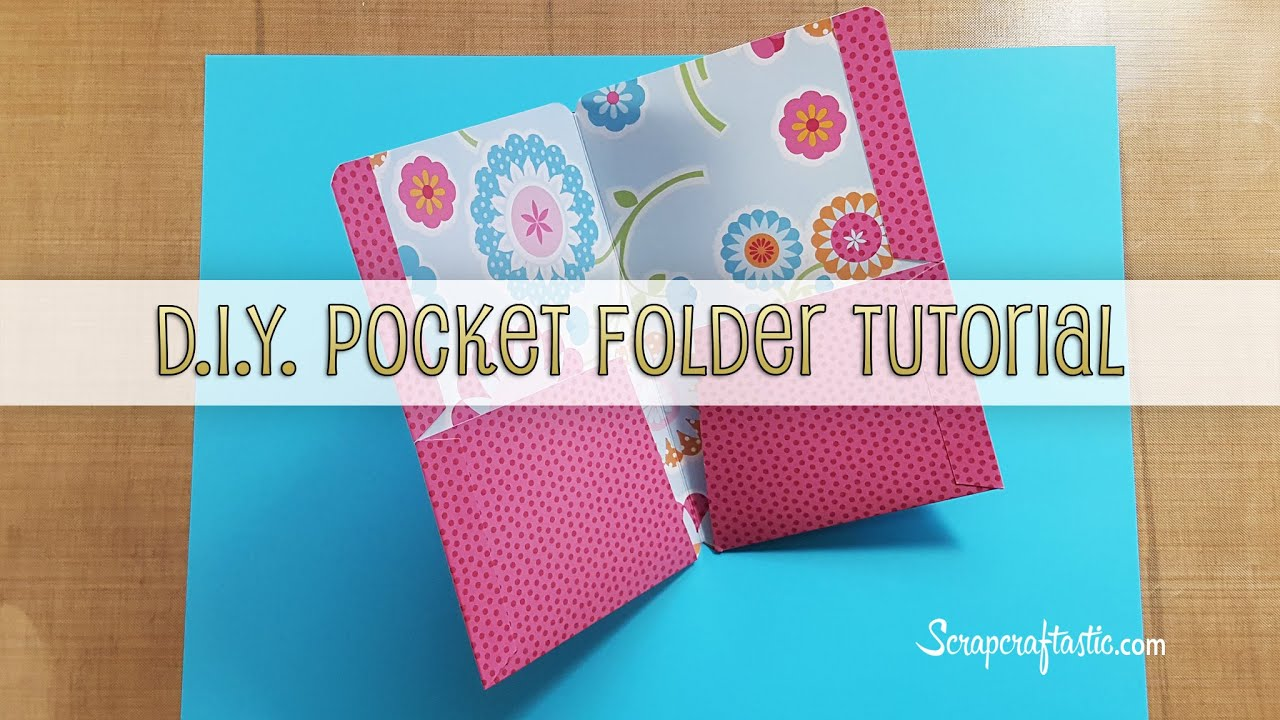 Diy Pocket Folder For Pocket Size Midori Fauxdori Style