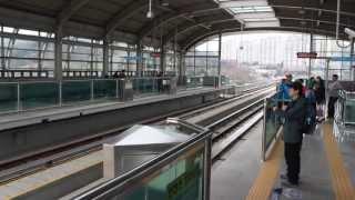 [FHD]龍仁軽電鉄 ART MARK II 121F, 111F 市庁駅