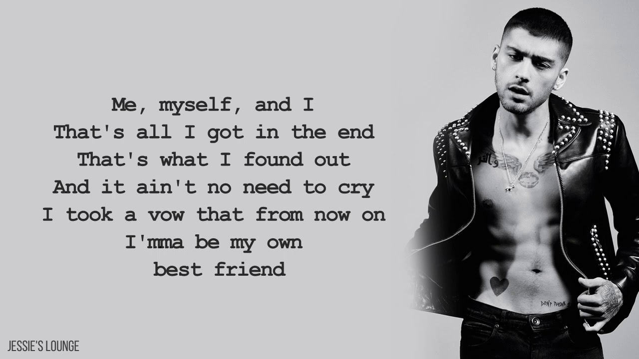 Zayn Me Myself And I Beyonce Cover Lyrics Youtube