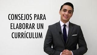 Consejos para elaborar un currículum | Humberto Gutiérrez