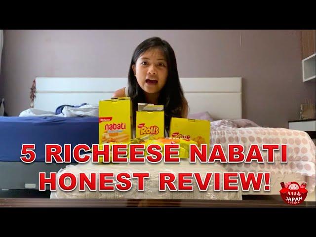 GAK SESUAI EKSPEKTASI! Honest review richeese nabati!