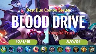 """DEADLY """"Blood Drive""""? Mobile Legends Johnson & Alice Glorious Legend Ranked Gameplay with Commentary"""