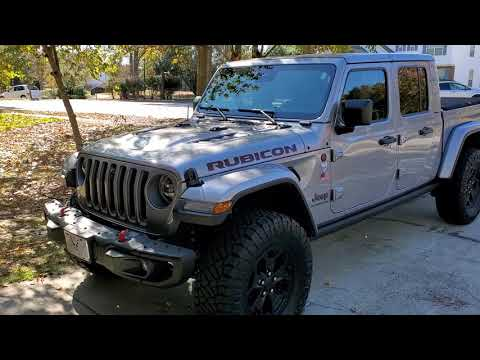 My New Jeep Gladiator L/E  Just Starting The Build