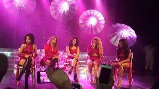 Fifth Harmony Live Paris -Who Are You-