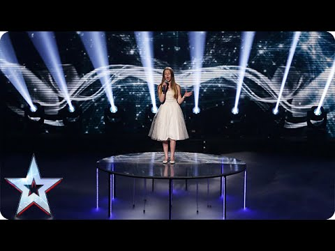 Young singer Maia Gough doesn't know her own strength | Semi-Final 4 | Britain's Got Talent 2015