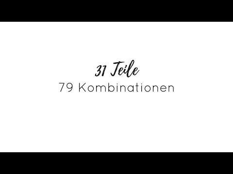 31 Teile = 79 Outfits | Frühlings & Sommer Capsule Wardrobe