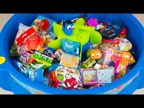 Thumbnail: HUGE FINDING DORY SURPRISE POOL Toy Surprise Eggs Disney Toys Boy Toys Girl Toys Kinder Playtime