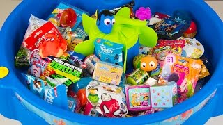 HUGE FINDING DORY SURPRISE POOL Toy Surprise Eggs Disney Toys Boy Toys Girl Toys Kinder Playtime thumbnail
