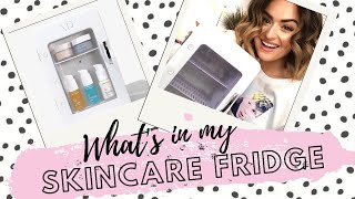 What's In My Fria Skincare Fridge | Over 50% OFF Code!