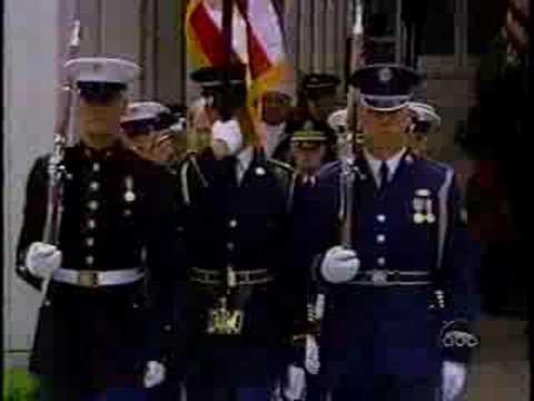 Richard Nixon Funeral (1): Beginning of the ceremony