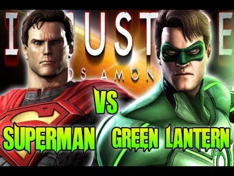 Superman vs green lantern - photo#28