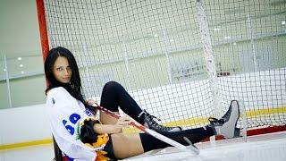 Хоккей от первого лица(с камеры gopro)