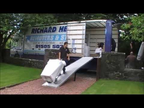 International Shipping - Packing a Container
