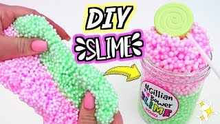 DIY FLOAM SLIME! How To Make Crunchy Floam Slime For Beginners!