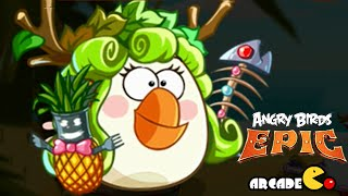 Angry Birds Epic: Awesome Bad Piggies Boss - CAVE 5 Burning Plain Level 4