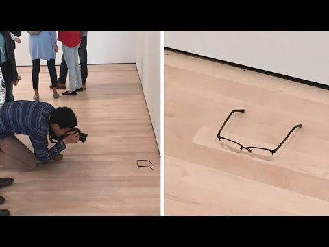 art-buffs-fooled-by-glasses-on-floor