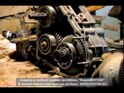Раздатка нива ремонт своими руками видео