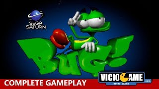 🎮 Bug! (Sega Saturn) Complete Gameplay