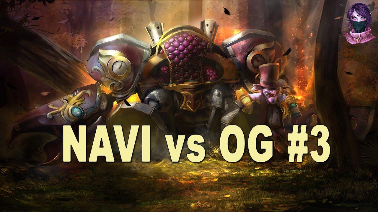 Download Dota 2 NaVi vs OG HighLights Game 3   DreamLeague Season 5 Lan Finals